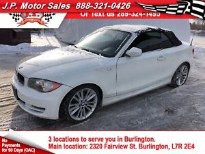 2011 BMW 1 Series 128i, Auto, Leather, Heated Seats, Convertible
