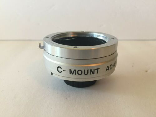 C Mount Lens Adapter for Minolta