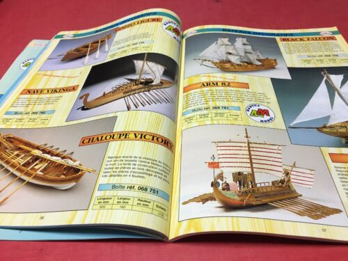 Catalogue scientific france n° 17 maquette bateaux modélisme miniature