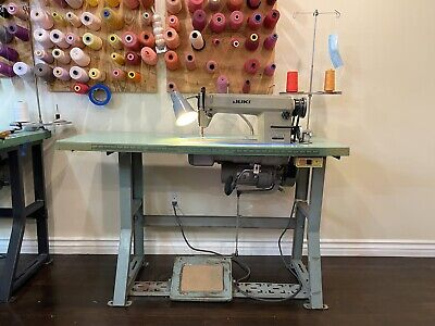 Juki Sewing Machine Industrial Mint Working Condition Dl - 5550