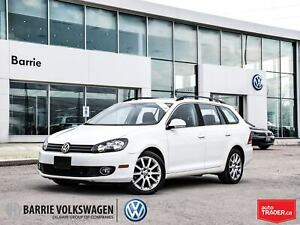 2014 Volkswagen Golf TDI Highline/0% 5 yrs/PANO SUNROOF/NAV