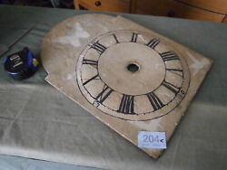 Clock Wood Dial Paint for a wall German Black Forest movement wall quartz face