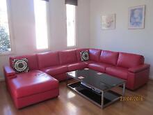 Leather Lounge Suite Eaglehawk Bendigo City Preview