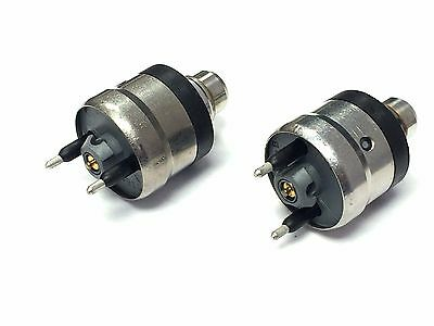 NEW SET OF 2 THROTTLE BODY FUEL INJECTOR 4.3L CHEVY GM BULK NO PACKAGE