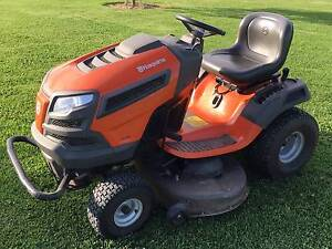 Husqvana TS246 Ride On Mower 125 Hours 12 months old Inverell Inverell Area Preview