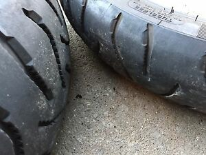 Motorcycle tires Michelin Anakee in great condition