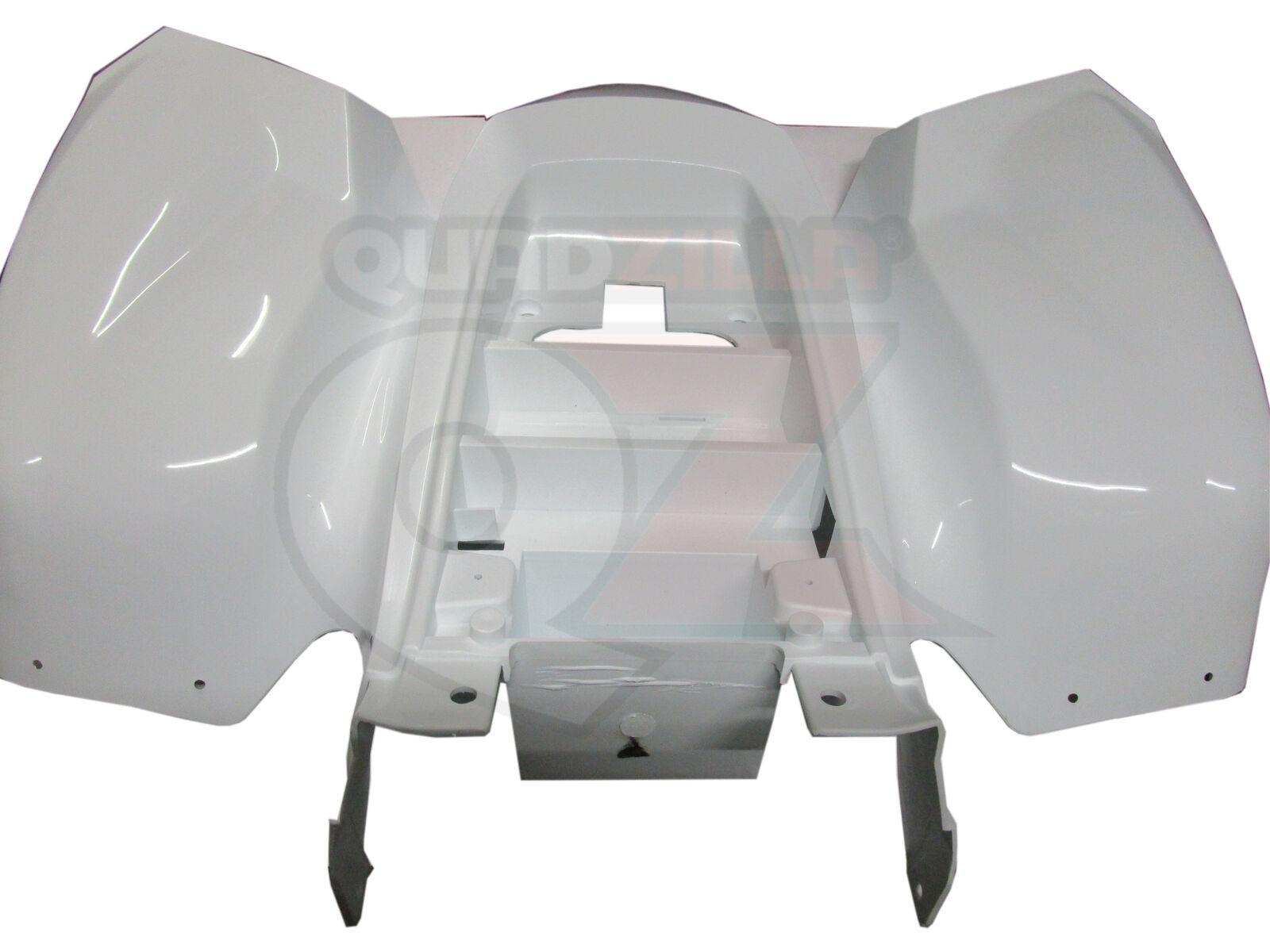 Genuine Quadzilla Pro Shark 100 Rear Cover Plastic Panel Black