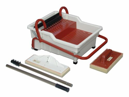 Raimondi Wash Master Pedalo Grout Cleaning System with Handle, Sponges and Pole