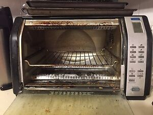 """Black and decker toaster oven fits 12"""" pizza"""