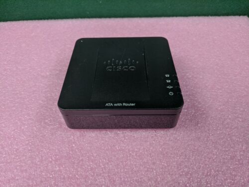 Cisco SPA122 2-Port VoIP Phone Adapter Small Business Router (No Power Adapter)