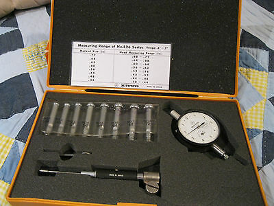 Mitutoyo Bore Gage .400-.720 .0001