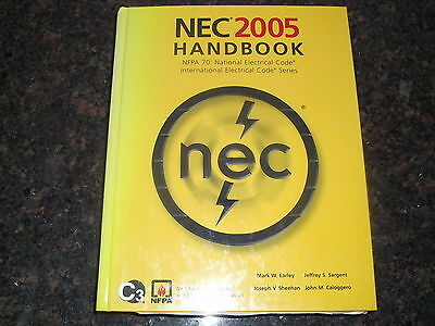 NATIONAL ELECTRICAL CODE NEC HANDBOOK MANUAL 2005 NFPA 70