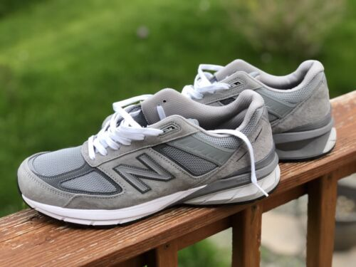 New balance 990v5 GRAY RUNNING SHOES MENS SZ 12 Used Few, Gorgeous conditions !