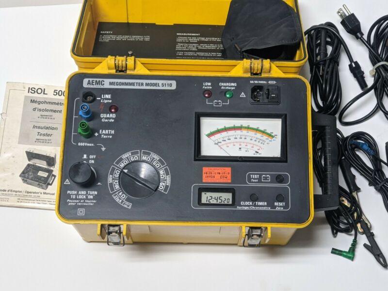 AEMC Instruments MEGOHMMETER 5110