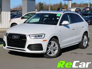 2016 Audi Q3 2.0T Technik AWD | LEATHER | SUNROOF