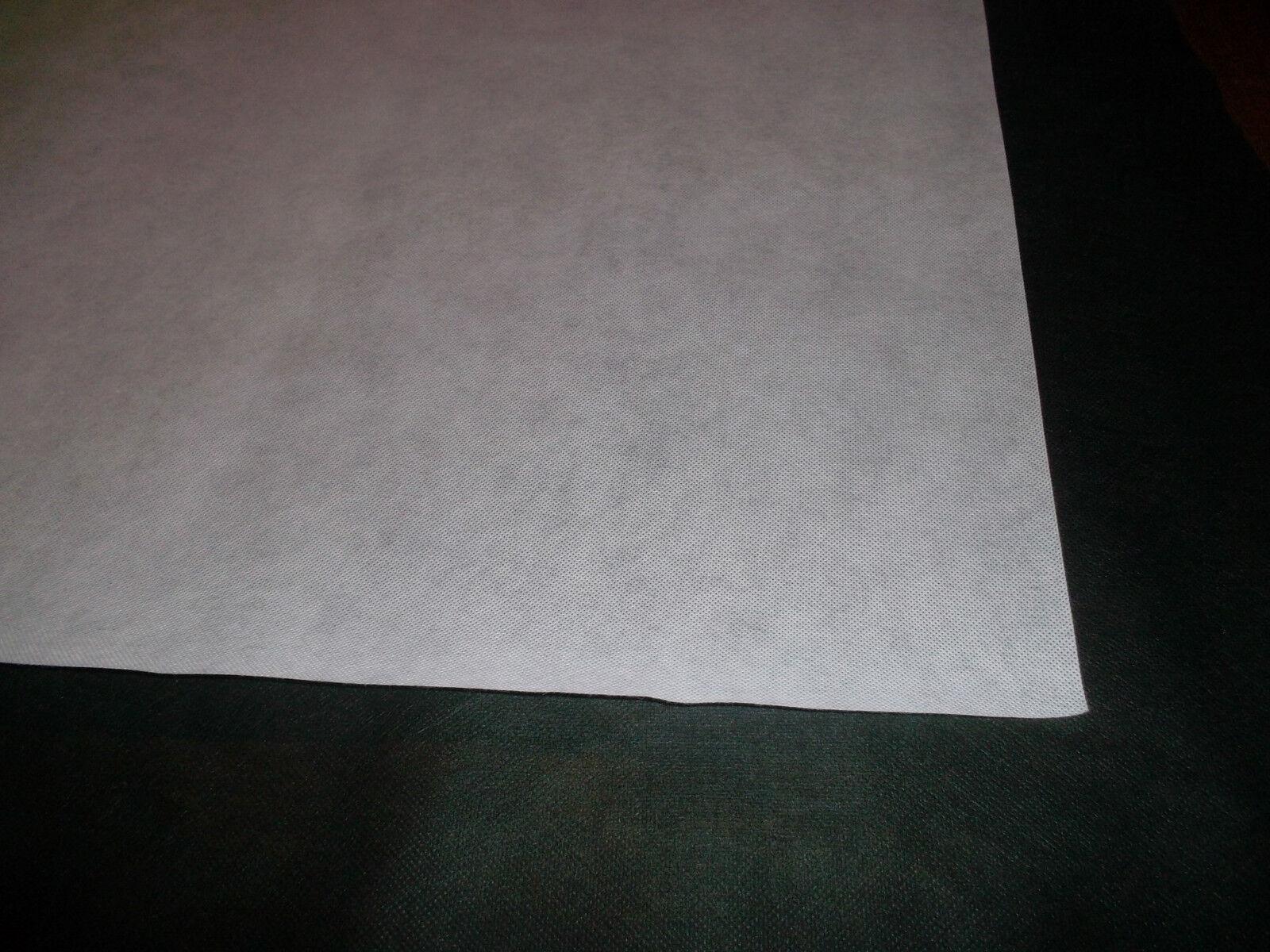 (ab 1,80M)WIGOFIL Spannvliesstoff Polstervlies Breite 160cm Weiss 15120grm2