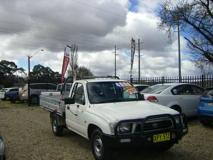 2001 Toyota Hilux Ute RZN147 2.0 2WD Work Mate Tidy Cheap Ute