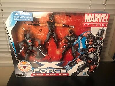 MARVEL UNIVERSE X-FORCE  DEADPOOL-WOLVERINE-WARPATH