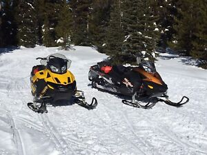 Skidoo (2)  and Royal trailer stolen from Penticton