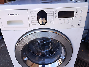 SAMSUNG 8KG FRONT LODER WASHING MACHINE  $155 Auburn Auburn Area Preview