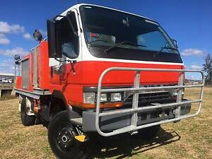Mitsubishi Canter 4x4 Single Cab Traytop Fire Truck Inverell Inverell Area Preview