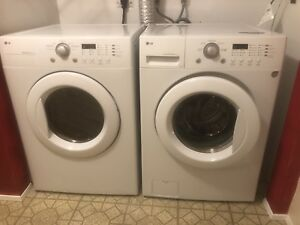LG front load washer and dryer!