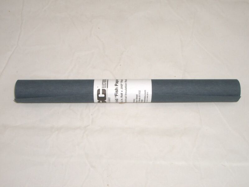 GC ELECTRONICS 560 ELECTRICAL INSULATION FIBROID FISH PAPER 240 SQ IN