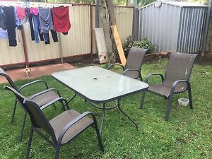 Out door table Greenacre Bankstown Area Preview