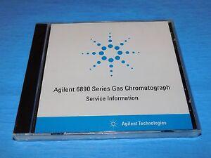 AGILENT G1530-90220, 6890 SERIES GAS CHROMATOGRAPH SERVICE INFORMATION NEW