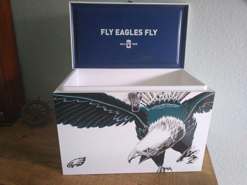 Very Rare Miller Lite Philadelphia Eagles Metal Cooler
