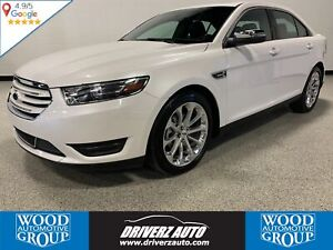 2018 Ford Taurus Limited AWD, REMOTE START, HEATED STEERING W...