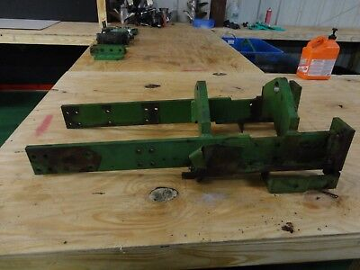 Ch11853 Side Framesframe Removed From 1979 John Deere 950 Tractor 8509501050