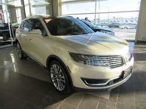 2016 Lincoln MKX Reserve LEATHER UPHOLSTERY, PANORAMIC SUNROO...