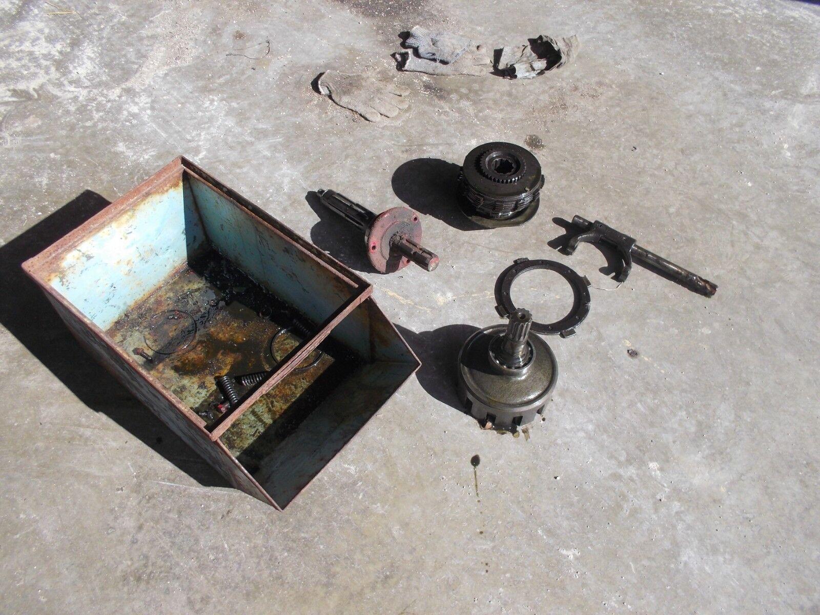 Photo Farmall 350 300 400 450 460 560 Tractor Working Live IHC PTO Unit iin parts IH