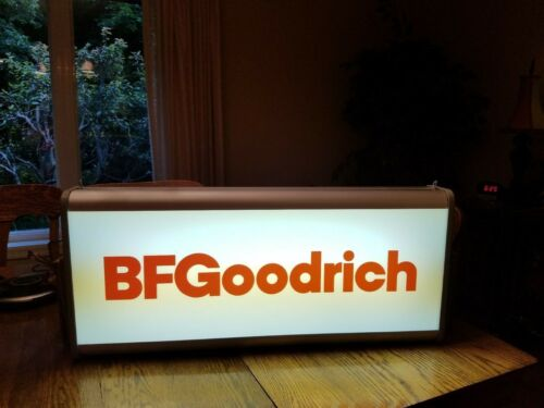 BFGoodrich Tire Original Lighted Sign Gas and Oil New in Box 1987