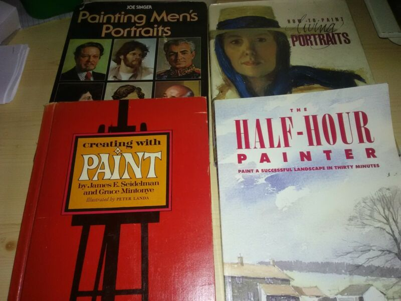Lot of Painting Instruction Books