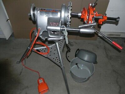 Ridgid 300 Threader With Carriage Reamer Cutter Die Head Oiler. Rigid 115 V