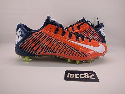 b60ea4e98e Nike Vapor Carbon Elite Football Cleats sz 13  657441 810  orange blue