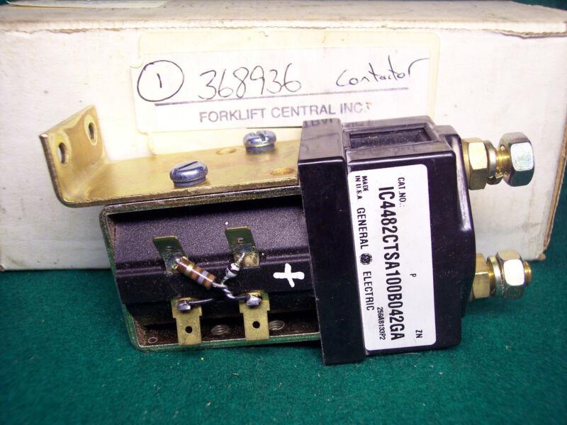 368936 Hyster 36-48 Volt Fw Contactor p/n: 368936, IC4482CTSA100B042GA. New.