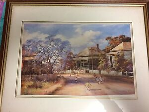 D'Arcy Doyle prints. Two high quality framed prints Wishart Brisbane South East Preview