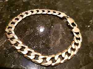 Mens Gold braclet 10mm Thick Solid 9ct Italy Coogee Eastern Suburbs Preview