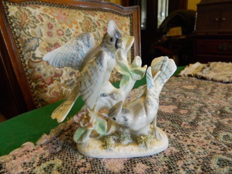 Ceramic Blue Jays Figurines