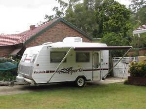 Caravan Viscount Sportz