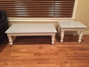 Shabby Chic Coffee Table & End Table