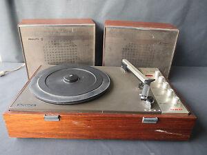 Ancien tourne disque philips pour d co vintage hifi vintage old french ebay - Ampli pour tourne disque ...