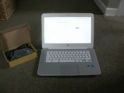 HP CHROMEBOOK 14 FALCO SECURE 1.4GHz 16GB 4GB RAM + CHARGER WORKING