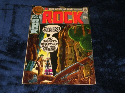 """OUR ARMY AT WAR Comic Book #227 - Featuring """"ROCK"""" 1971"""