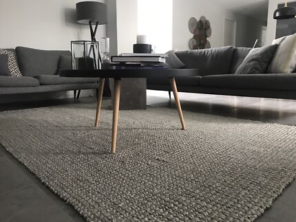Contemporary Designer Living Room Handmade Jute Rugs