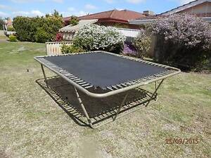 Trampoline - large size, great for kids. $100 ono Bateman Melville Area Preview