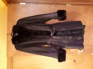 Faux leather coat for ssle